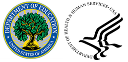 ED and HHS logos