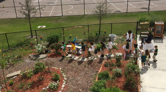 Gove Elementary Outdoor Learning Labs