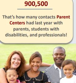 parent centers' impact infographic - click to access full version