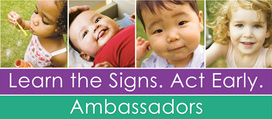 Learn the Signs, Act Early Ambassadors logo