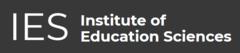 Institute of Education Sciences (IES) header