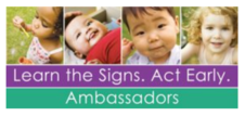 Learn the Signs - Act Early Ambassadors (pictures of young children)