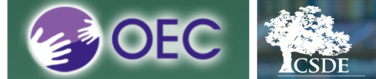 Logos: Connecticut Office of Early Childhood and the Connecticut State Department of Education