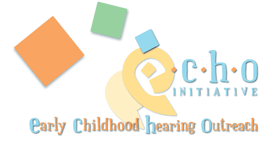 Logo: Early Childhood Hearing Outreach (ECHO) Initiative