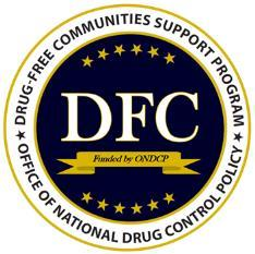 ONDCP Drug-Free Communities Support Program logo