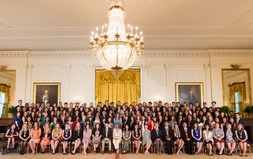 2017 U.S. Presidential Scholars with First Lady Melania Trump