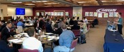 Dr. Casey Sacks addresses the Rural Community College Convening in Racine, Wisconsin.