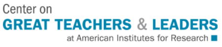 Center for Great Teachers and Leaders logo