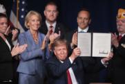 President Trump and Secretary DeVos announce disabled veteran debt relief