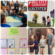 Scenes from Assistant Secretary Brogan's visit to Hill City Elementary.