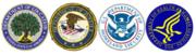 Federal agency logos