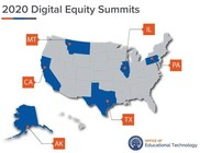 Digital Equity Summit map