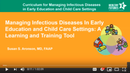 YouTube video of webinar: Healthy Futures - Managing Infectious Diseases