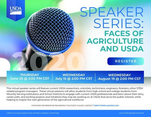 USDA Speaker Series