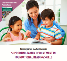 Download: A Kindergarten Teacher's Guide to Supporting Family Involvement in Foundational Reading Skills (PDF)