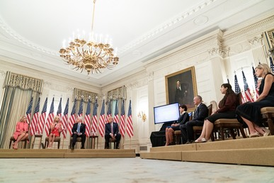 Reopening School White House Event