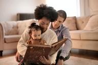 Parents Teaching Their Child