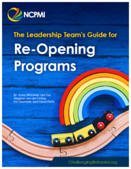 The Leadership Team's Guide for Re-Opening Programs (PDF)