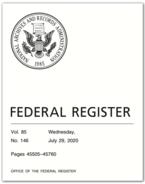 Federal Register 07-29-2020 B