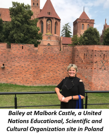 Bailey at Malbork Castle, a United Nations Educational, Scientific and Cultural Organization site in Poland