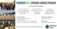 Fulbright Hays Seminar Abroad Program