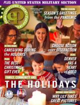 Exceptional Parent magazine cover - December 2020