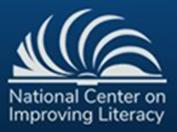 National Center on Improving Literacy Logo