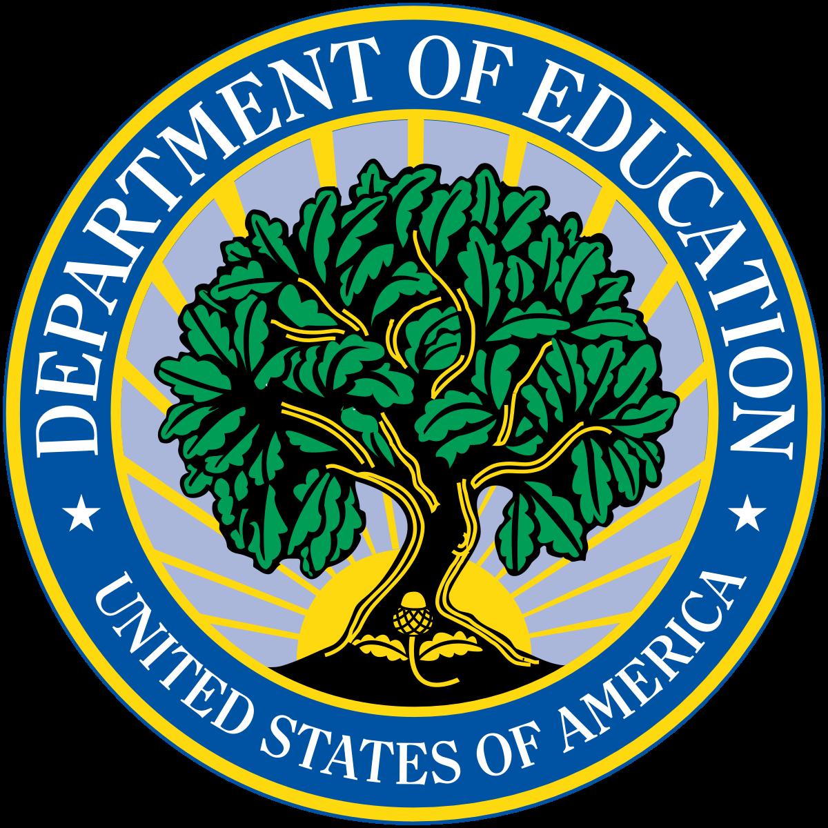 Us Dept of Ed Logo