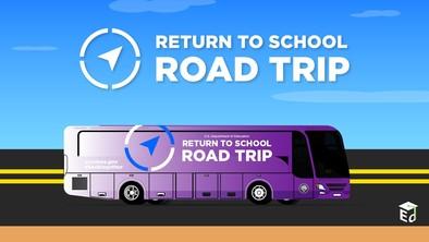 Logo of the Return to School Roadtrip