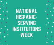 National Hispanic-Serving Institutions Week logo