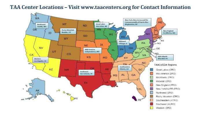 TAAC Center Locations
