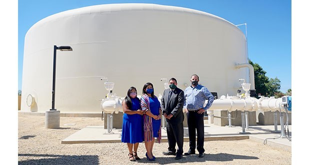 City of Sanger Water Tank Ribbon-Cuttin