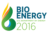 Logo for Bioenergy Technologies Office's annual conference, Bioenergy 2016: Mobilizing the Bioeconomy through Innovation