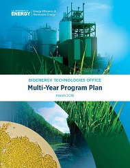 Cover page of Bioenergy Technologies Office Multi-Year program Plan, 2016 Update
