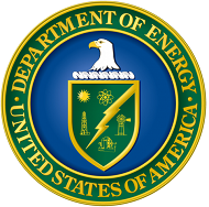 Logo for the U.S. Department of Energy