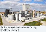 DuPont's cellulosic ethanol facility. Photo by DuPont.