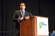 Acting Assistant Secretary for Energy Efficiency and Renewable Energy (EERE) David Friedman speaking at Bioenergy 2016