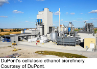 DuPont's cellulosic ethanol biorefinery. Courtesy of DuPont.
