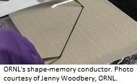 Biobased Shape-Memory Conductors