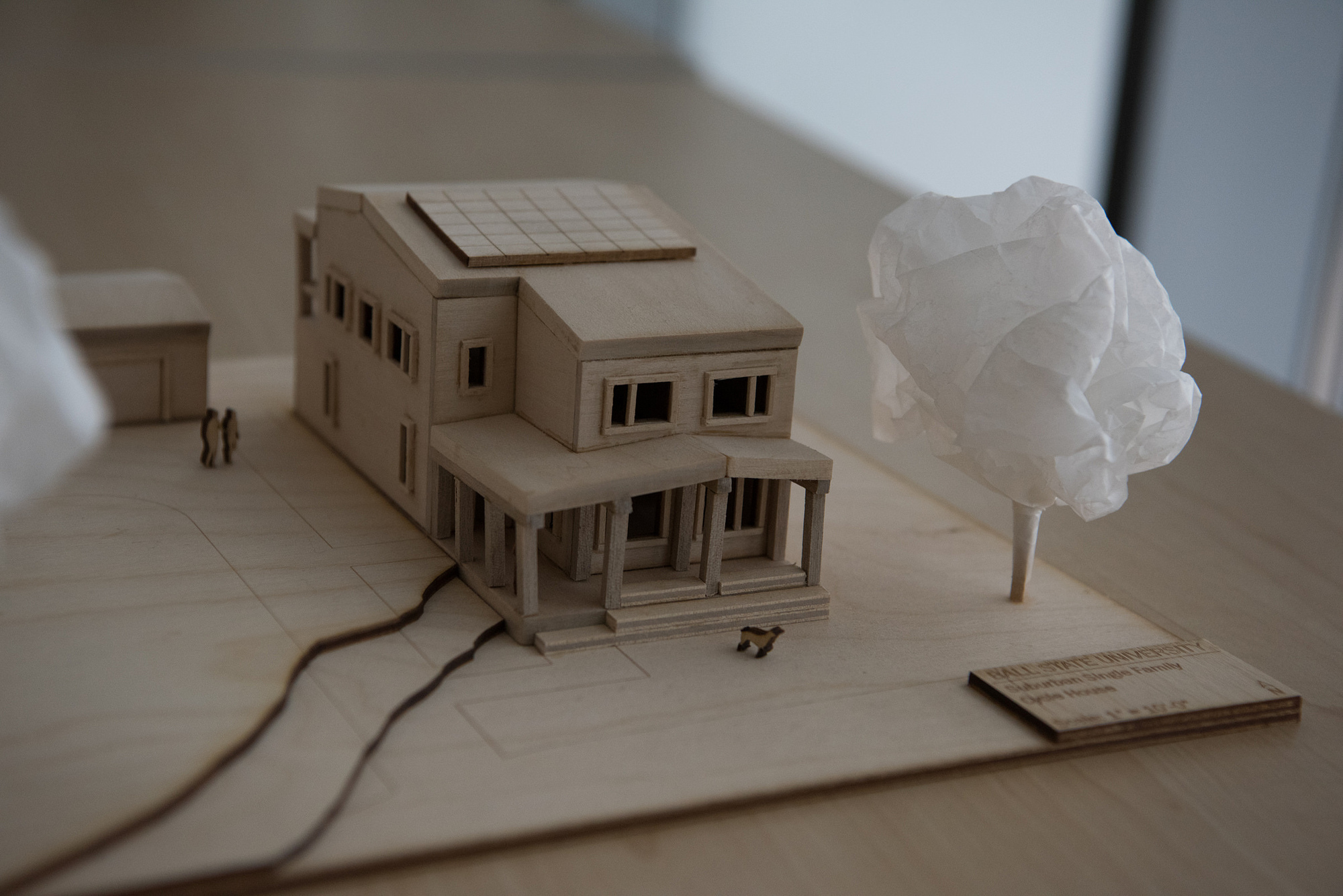 House model from a past competition.