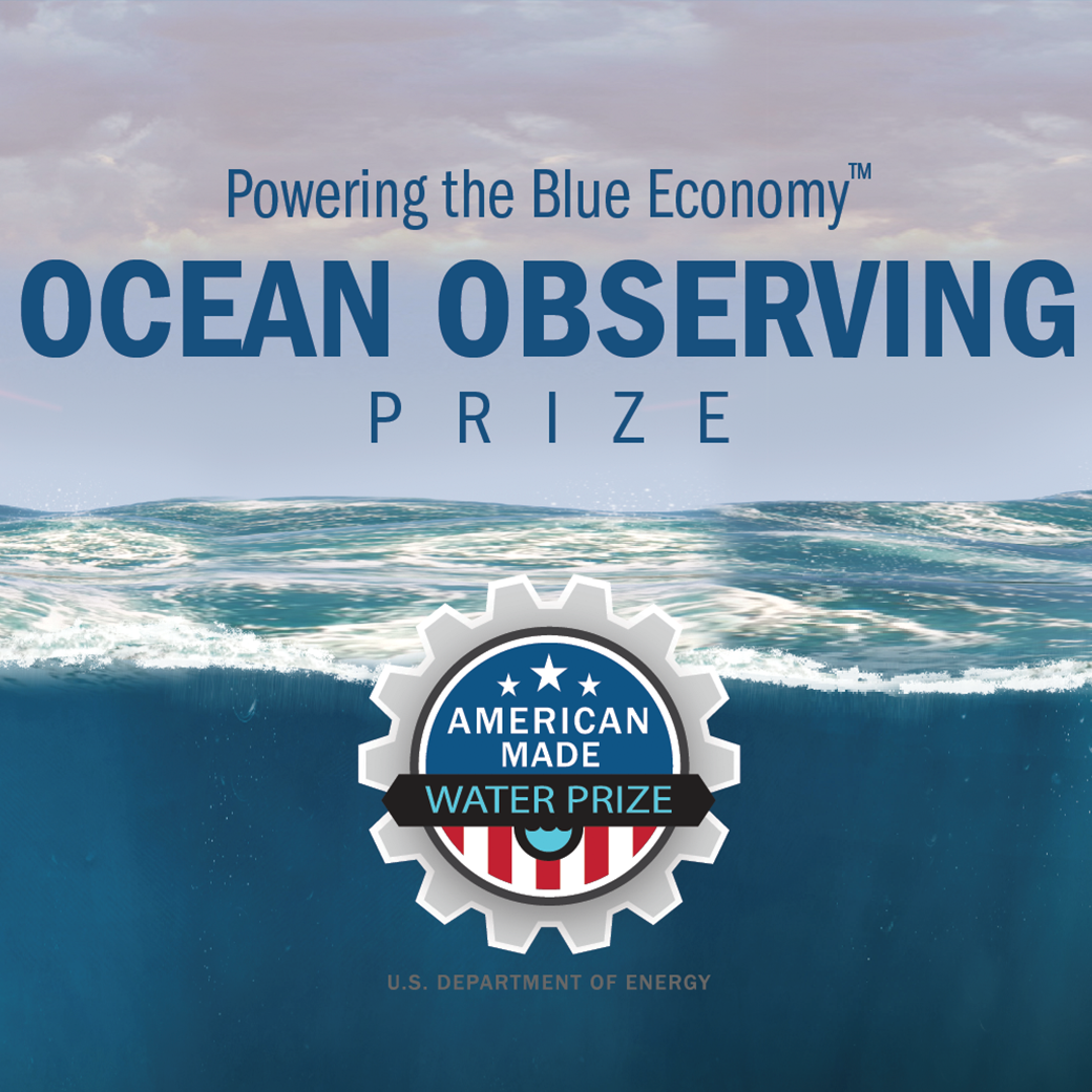 Logo that says Ocean Observing Prize