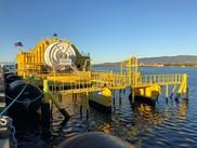 OceanEnergy Buoy in Pearl Harbor