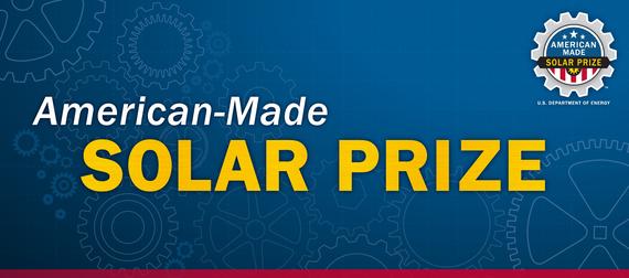 Solar Prize Announcement