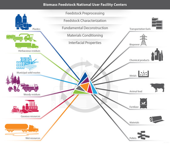 biomass facilities diagram
