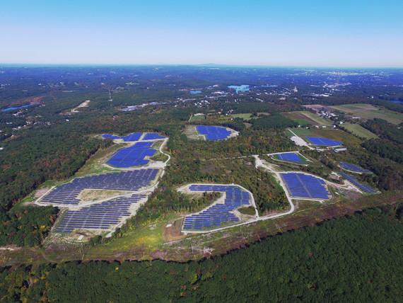16.5-megawatt solar farm built in Oxford, MA