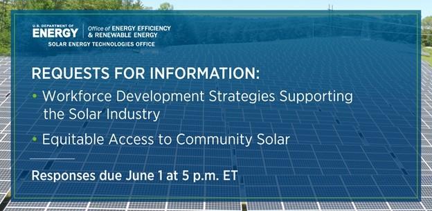 Workforce and Community Solar RFI