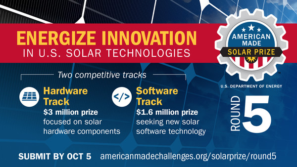 American-Made Solar Prize Round 5