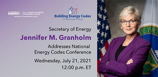 Granholm Energy Codes 2021