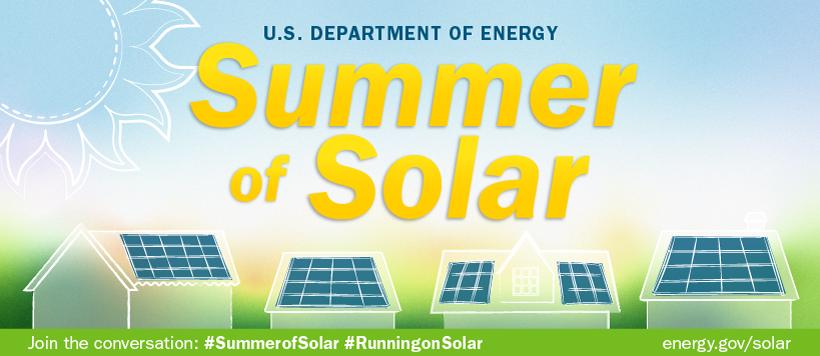 Summer of Solar graphic