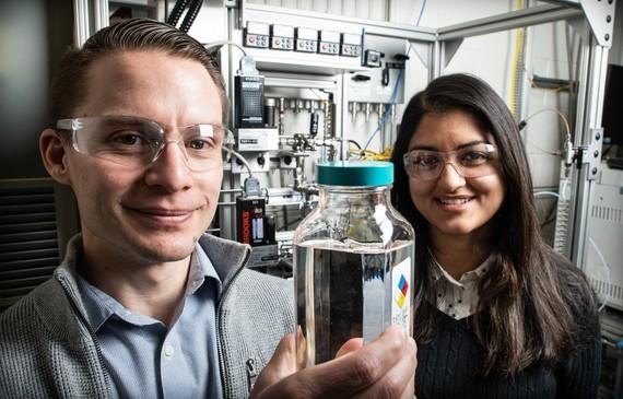 Scientists at NREL